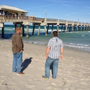 Logan and Captain Ron At Dania Beach