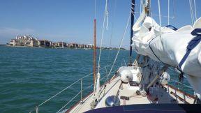 Motoring into Marco Island