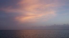 I love pink skies