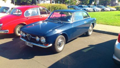 Alfa Romeo 1750 at Classics By The Beach, Hobart
