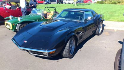 Chevrolet Corvette at Classics by the Beach, Hobart