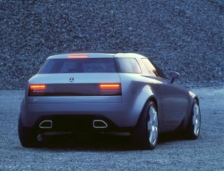 Saab 9x Rear View