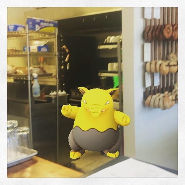 So @breadhive has a new employee #pokemongo