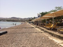 One Of Eilat's Public Beaches