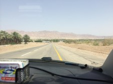 Driving Towards The Aqaba Border