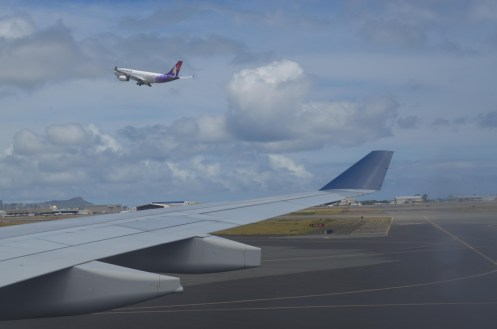 Hawaiian Airlines A330 Taking Off