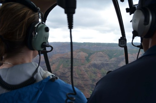 Flying Over The Waimea Canyon