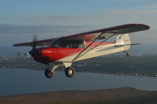 Carbon Cub Formation Flight