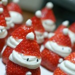 Today On The Boards: Strawberry Santas