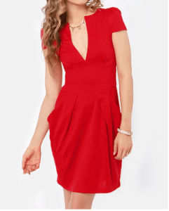 Spanish red fiesta dress— LuLu's