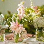 Today on the Boards: Mason Jar Flower Centerpieces