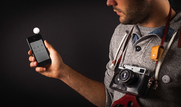 Today on the Boards: The Lumu Light Meter for iPhone