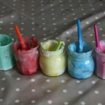 Today on the Boards: DIY Edible Finger Paint