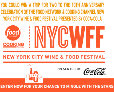 Food Network & Cooking Channel New York City Win & Food Festival Sweepstakes - Sweeps Maniac