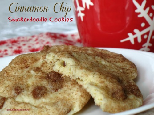 Cinnamon Chip Snickerdoodle Cookies by The Ease of Freeze