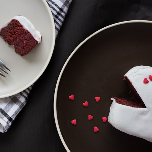Beetroot Red Velvet Cake