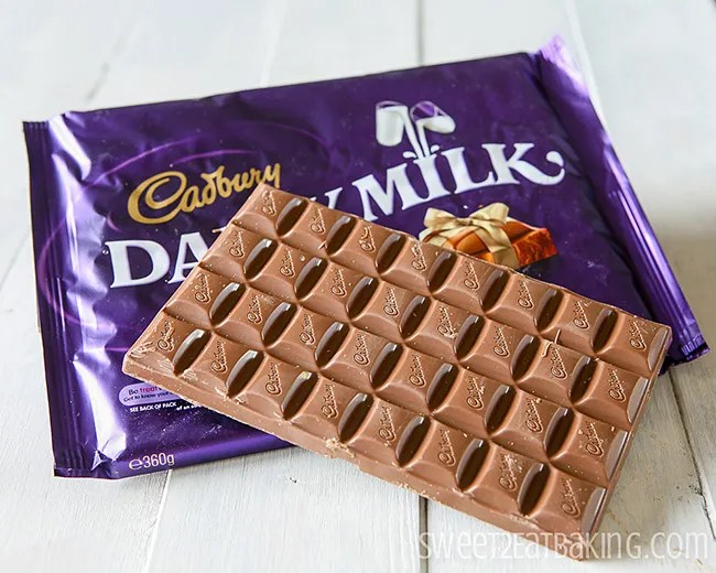 Cadbury's Dairy Milk Chocolate Bar