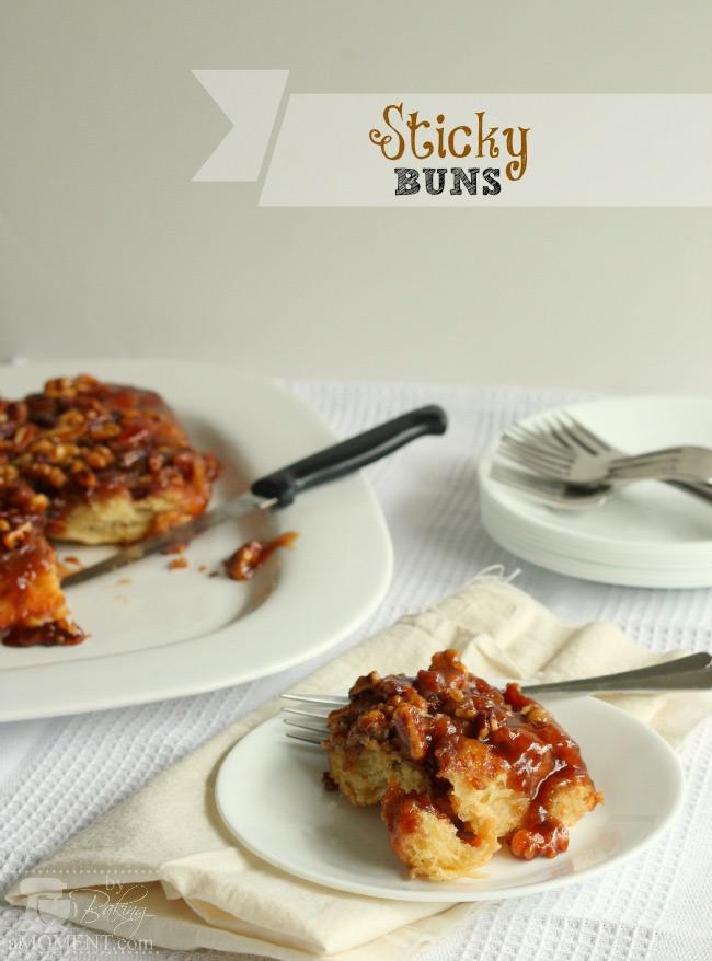 Sticky Buns by Baking A Moment