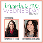 Inspire Me Wednesday Link Party