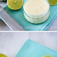 Key Lime Posset