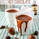 European Style Hot Chocolate by Sweet2EatBaking.com