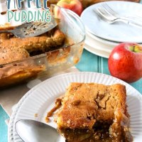 Toffee Apple (Caramel Apple) Pudding