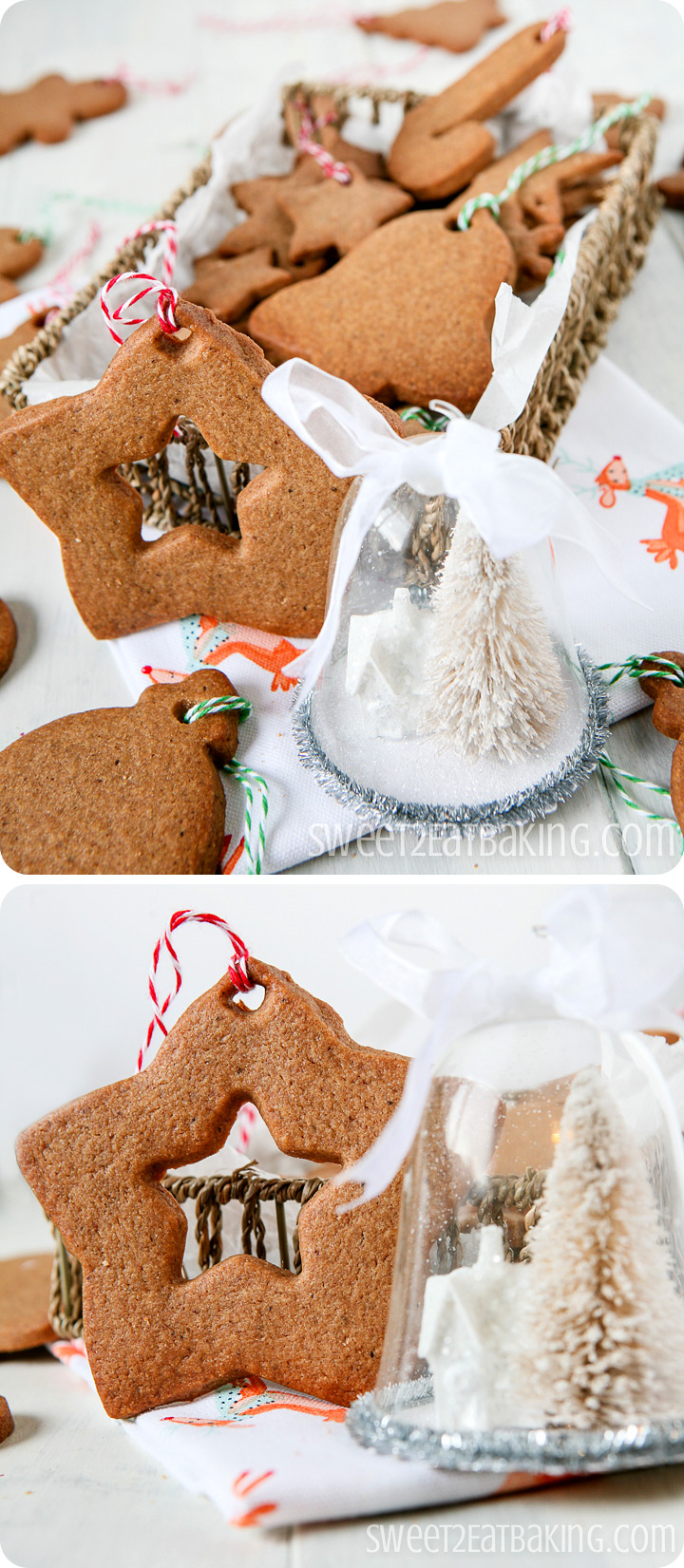 Speculoos Christmas Cookie Recipe by Sweet2EatBaking.com #speculoos #cookies #christmas #recipe