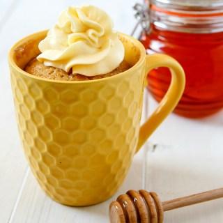 Honey Mug Cake