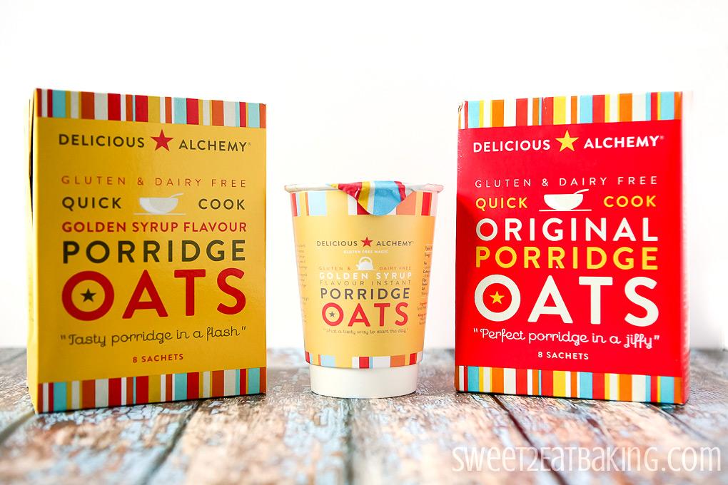 Delicious Alchemy Gluten and Dairy Free Porridge Oats