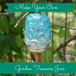 make your own garden treasure jars