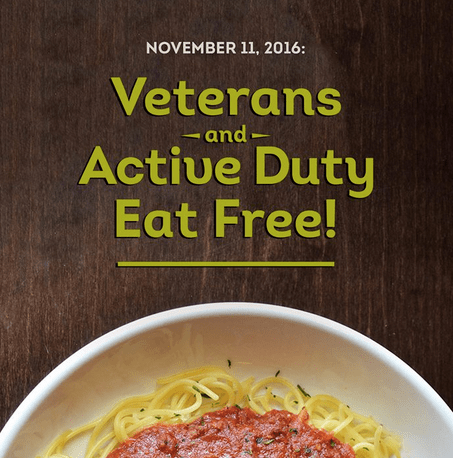 Olive Garden Free Meal For Veterans Active Duty Nov 11 Sweet Deals 4 Moms