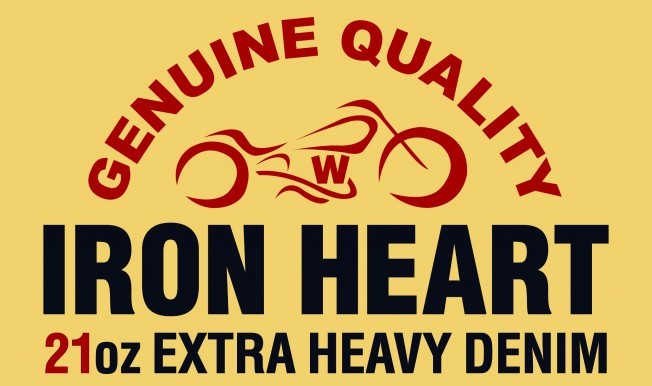 Iron Heart, quality denim for life.