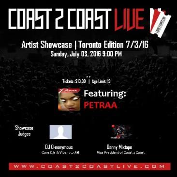 Win Tickets to watch Petraa perform her hot reggae single 'Love is Eternal' in Toronto!