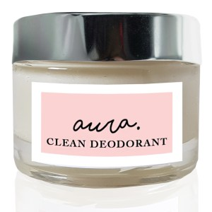Aura Clean Deodorant. Natural Deodorant That Works. Aluminium Free. Organic. By Sweet Living Company.