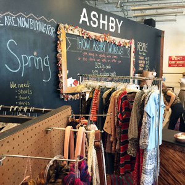 Shop and Sell Clothes at Ashby