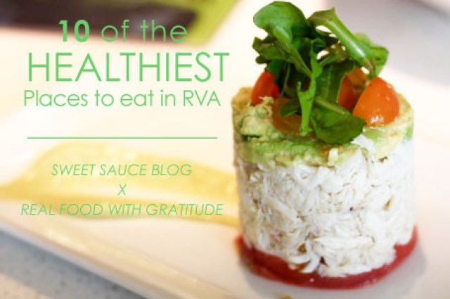 10 healthy places to eat in RVA