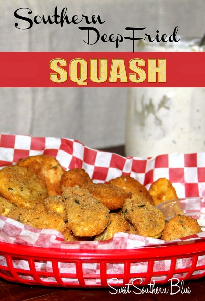 Southern deep fried squash 1