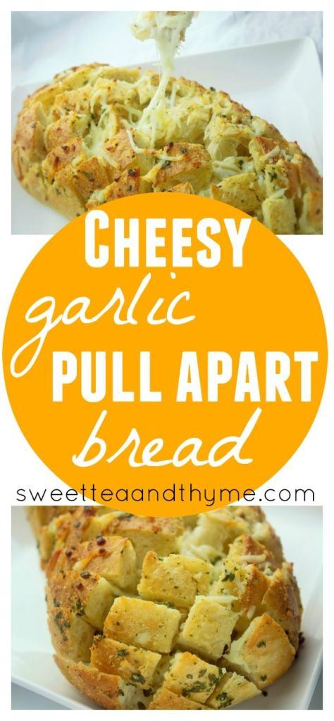 ... pull apart bread cheesy garlic pull apart bread load bread stuffed
