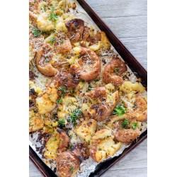 Small Crop Of Garlic Parmesan Potatoes