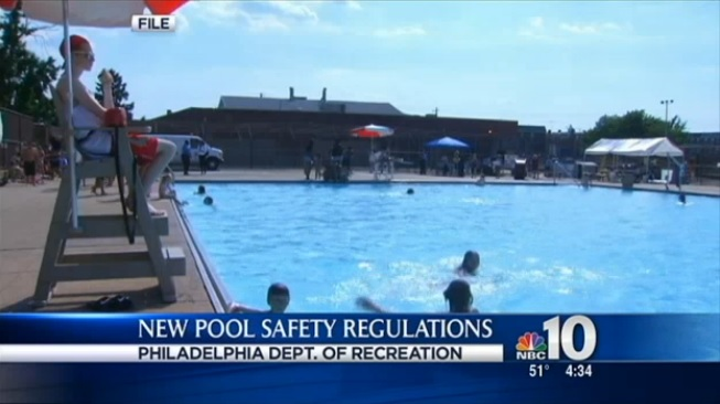 New Philly Pools Rules Require Kids To Swim A Length Before Going In The Deep End
