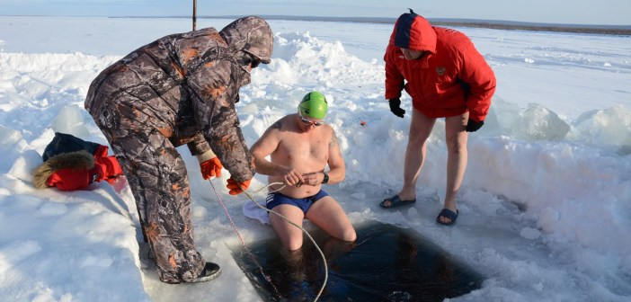Ger Kennedy's Ice Hole Diving in Yakutsk, Russia's Siberia