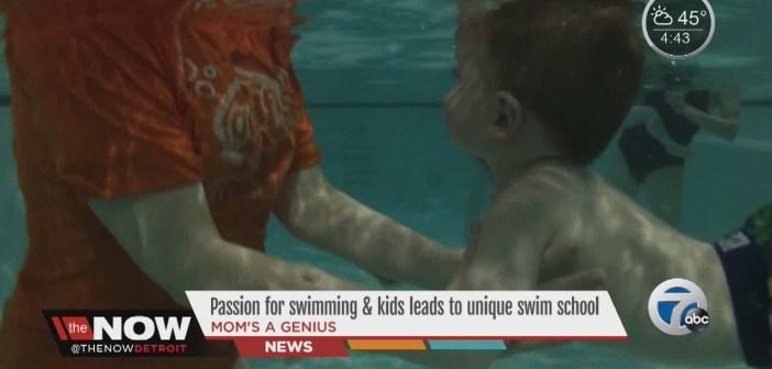 Mom's a Genius: Unique swim school for kids