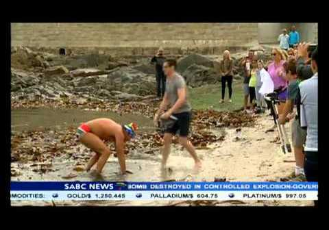 SA swimmer Theodore Yach completed his 100th Open Water Swim