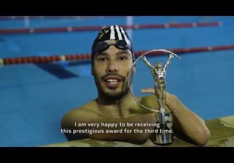 Daniel Dias wins 2016 Laureus Sports Award