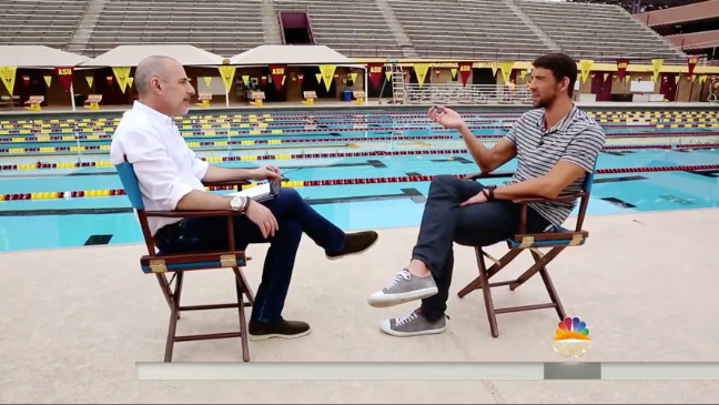 Watch Michael Phelps interview with TODAY's Matt Lauer