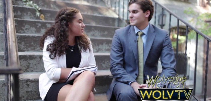 Wolverine Women NYC Exclusive with Senior Swimmer Paul Soley