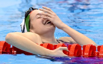 Boglarka KAPAS HUN Gold Medal  400 freestyle Women FINAL London, Queen Elizabeth II Olympic Park Pool  LEN 2016 European Aquatics Elite Championships  Swimming Day 14 22-05-2016 Photo Andrea Staccioli/Deepbluemedia/Insidefoto