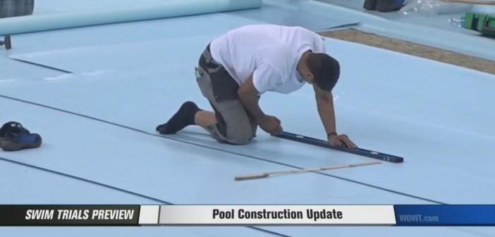 CenturyLink Center Omaha preparing for the U.S. Olympic Swim Trials