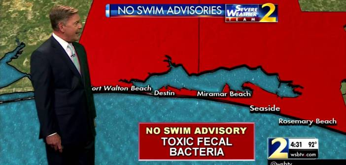 No swim advisory issued for some Florida panhandle beaches