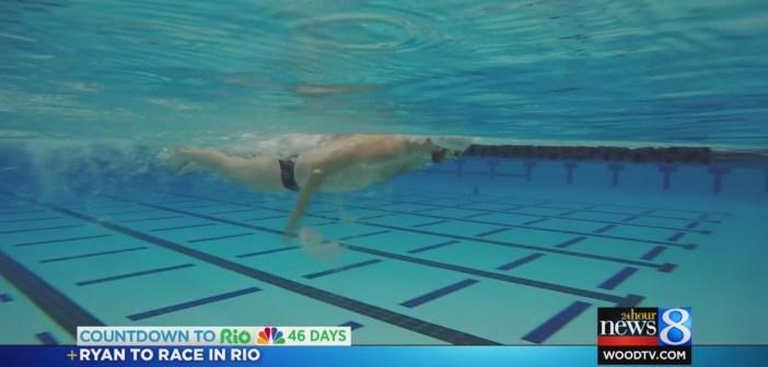 Olympic swimmer: Michigan has 'best training, coaching'